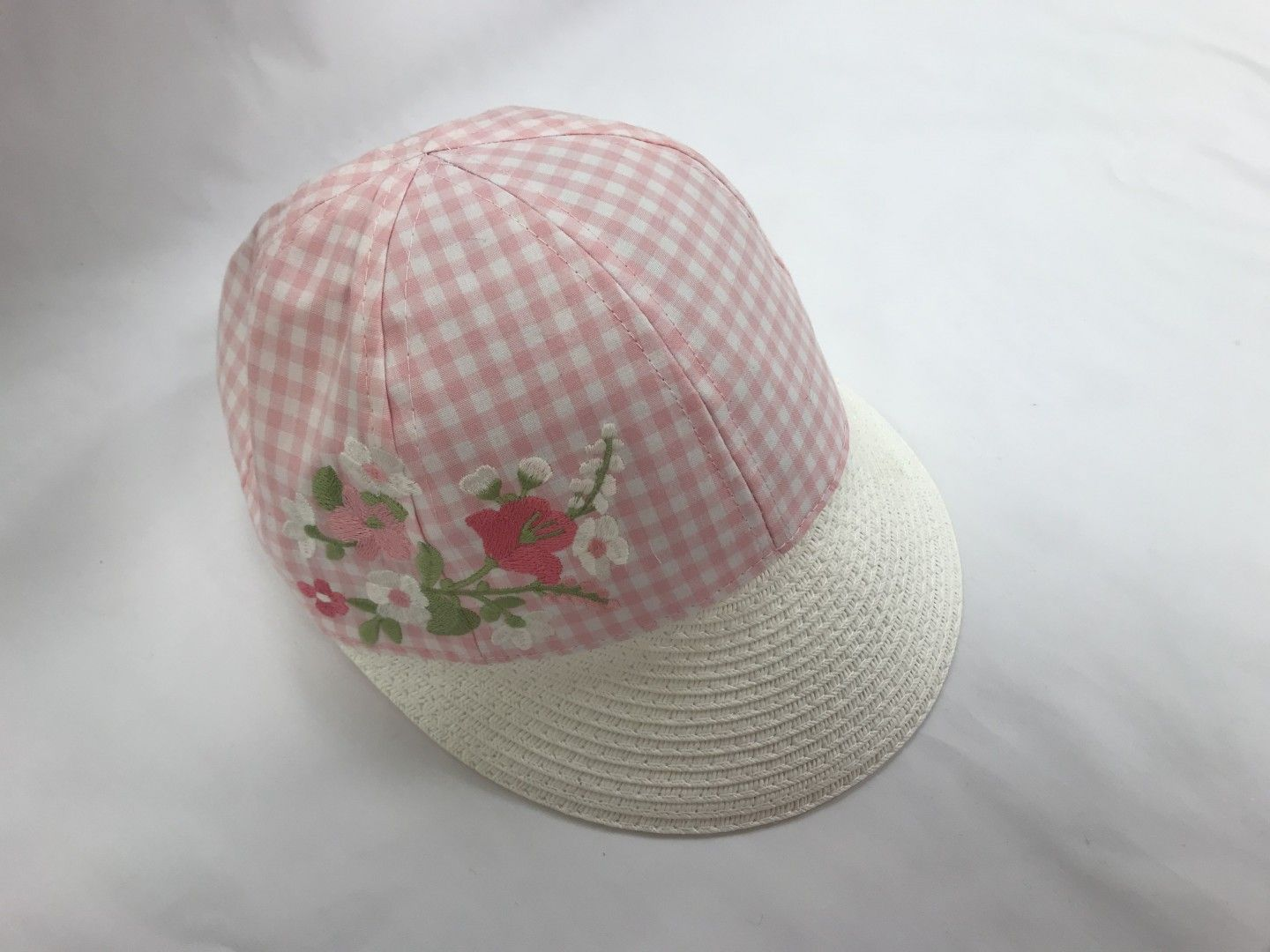 MAYORAL PINK AND WHITE CAP SIZES SMALL-LARGE