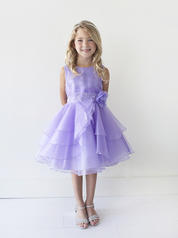 TIP TOP LILAC RUFFLED FLOWER GIRL DRESS SIZE 2