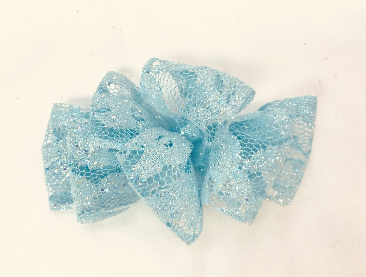 CHEE CHEE SPARKLE BLUE BOW