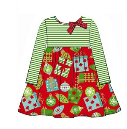 BONNIE JEAN HOLIDAY BABY DOLL DRESS