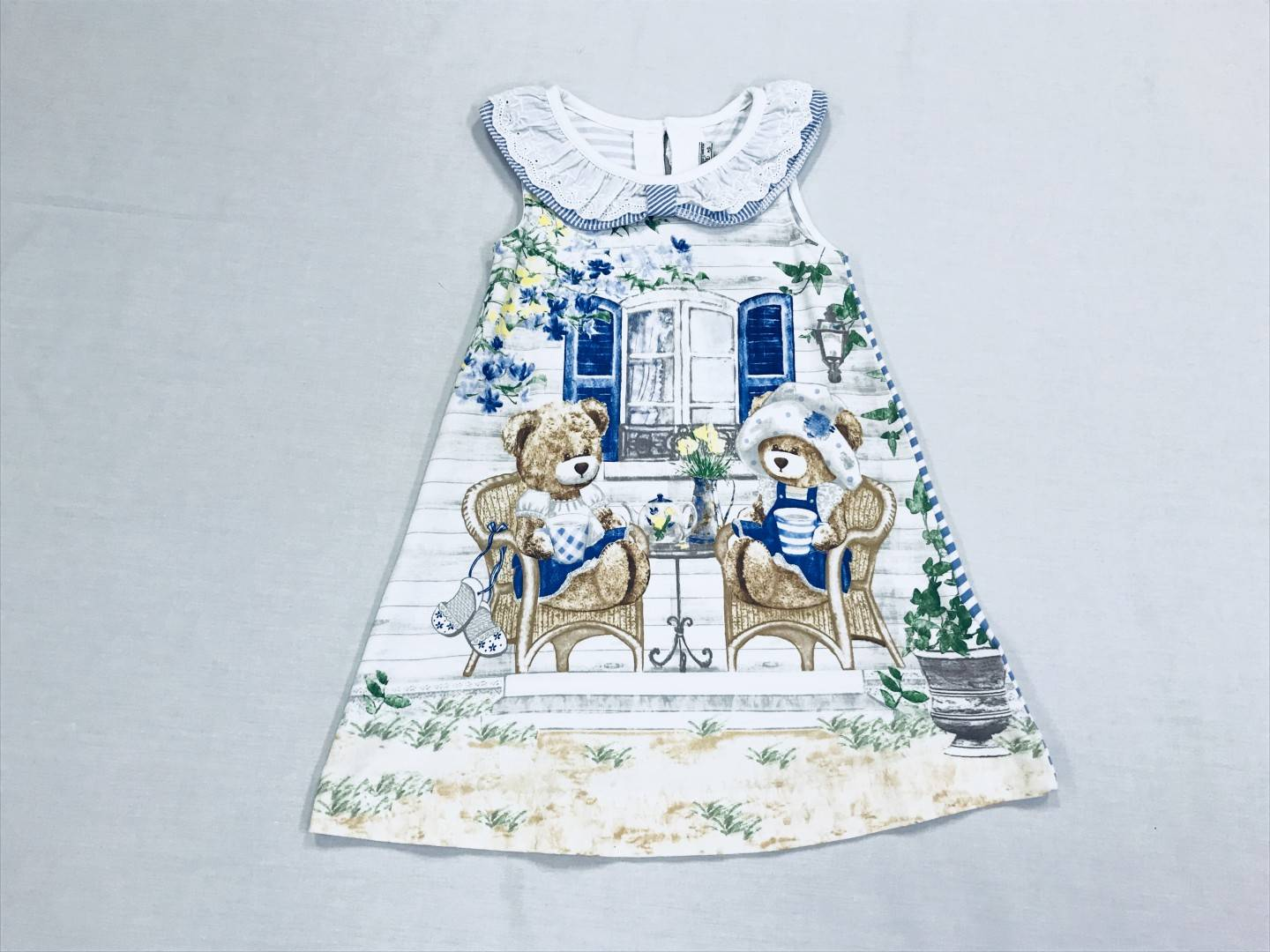 TEDDY BEAR DRESS SIZE 4-6