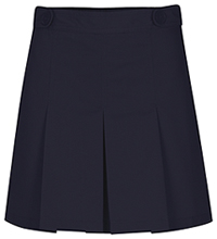 Girls Adjustable Waist Hipster Navy Skort