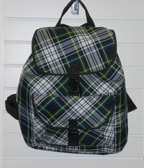 BackpackPlaid 45
