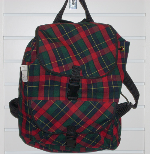 BackpackPlaid 66