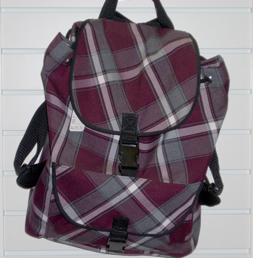 BackpackPlaid 91