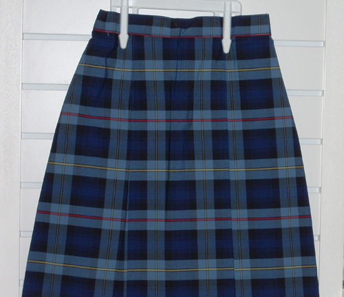 Two Kick Pleat Skirt