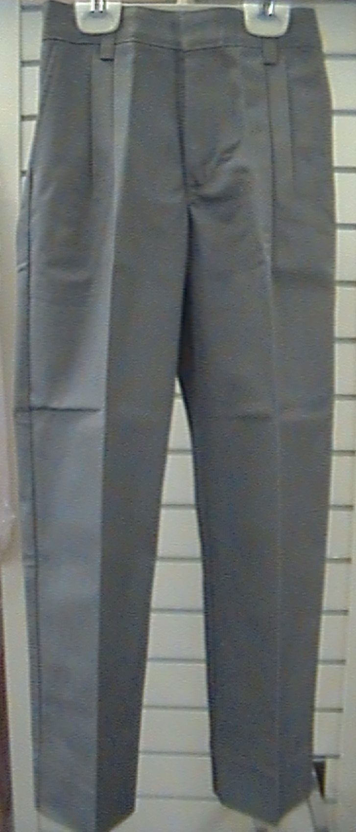 Light Gray PantPleated Front