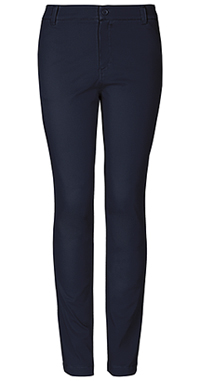 Girls Navy Skinny Pants