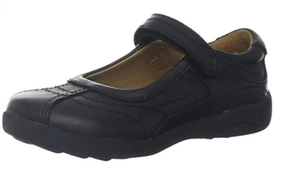 STRIDE RITE CLAIRE BLACK MARY JANE SHOE