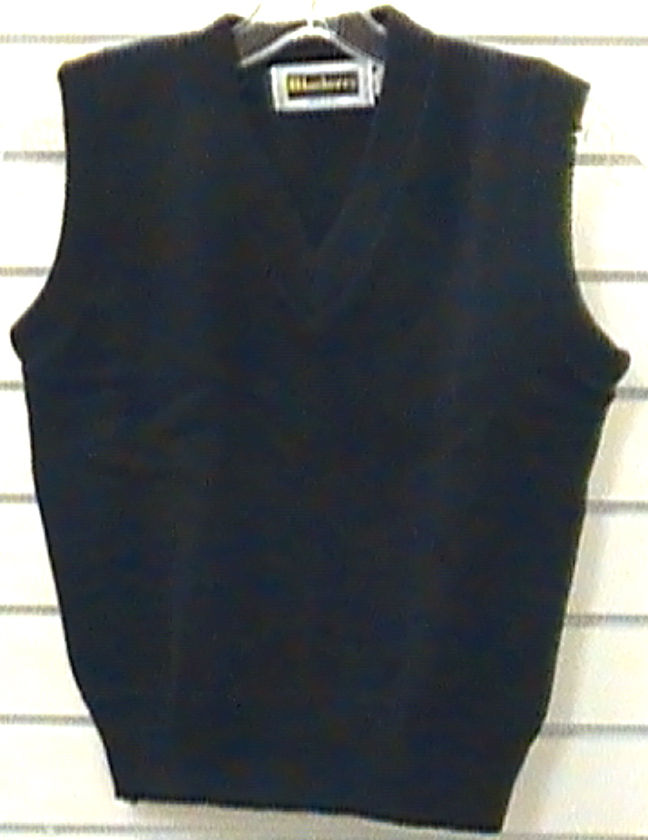 R.A. Black Magnet SchoolBlack Vest with School Logo